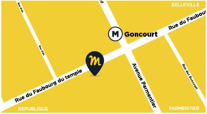 50 rue du faubourg du temple - 75011 Paris